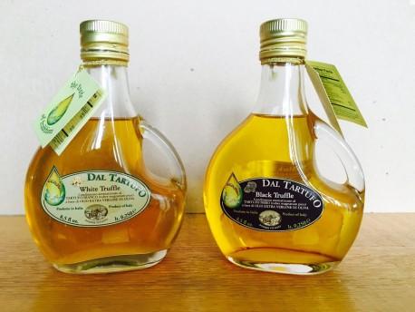 Basquaise Olio aromatizzato al Tartufo Bianco e Tartufo Nero